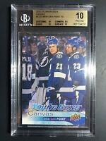 2016-17 Upper Deck Brayden Point Young Guns Canvas Rookie BGS 10