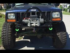 Ares Fabrication XJ STUBBY STINGER WINCH BUMPER | STEALTH | XJ (84-01)