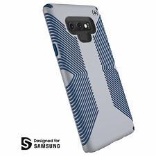 Speck Presidio Grip Case for Samsung Galaxy Note9 Microchip Grey/Ballpoint Blue