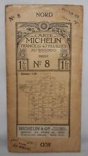 Carte Michelin France en 47 Feuilles - Brest, Sheet 8 - c1915 1:200,000 Map