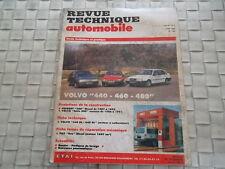 REVUE TECHNIQUE VOLVO 440 - 460 - 480 MOTEUR ESSENCE
