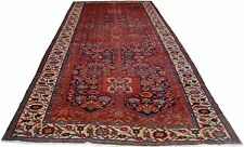 """Nineteen Century MALAIER PERSIAN Hand Knotted Rug 6'7"""" x 17'4"""""""