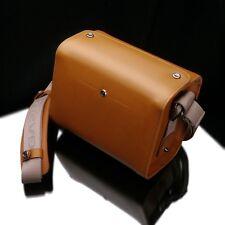 GARIZ Genuine Leather Camera Bag Black for Sony Alpha Leica FUJI Olympus LUMIX