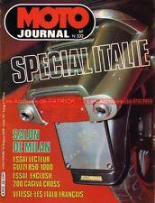 MOTO JOURNAL  532 GUZZI 850 1000 Le MANS T3 S3 SP LAVERDA CAGIVA WMX 250 BIMOTA