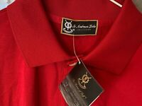 Mens St Andrews Links GOLF SHIRT //  New w Tags L Large NWT