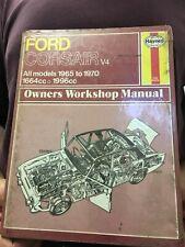 1965 TO 1968. N.O.S 2000E WORKSHOP MANUAL FOR FORD CORSAIR V4 MODELS