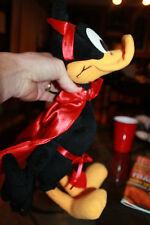 "Red Valentine's Day Devil Daffy Duck, Looney Tunes plush 16"" Nice"