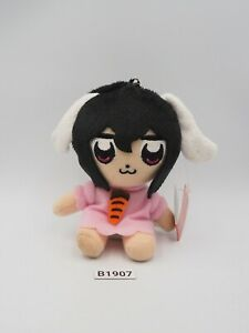 """Pop Team Epic X Touhou Project B1907 Tei Inaba Taito Mascot Plush 4"""" Toy Japan"""