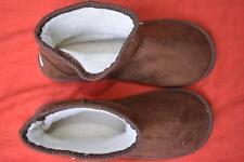 New BILLABONG Short BROWN Sherpa SHUGG BOOT. MENS Size 8. Microsuede. RRP$49.99