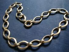 RARE MILOR ESTATE 925 STERLING SILVER THICK BIG CHUNKY NECKLACE