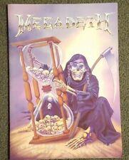 Megadeth Concert Program Book Countdown To Extinction World Tour 1992-? Used