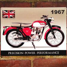 TRIUMPH TIGER CUB parete in metallo segno VINTAGE TARGA Garage Moto 40x30cm 50908