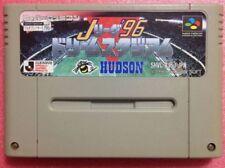 SFC SNES J LEAGUE 96 DREAM STADIUM SHVC-AJ6J-JPN Super Famicom Nintendo HUDSON