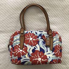 RARE Relic Double Shoulder Strap Purse Bag 2 Zip Compartments Cora Canvas NWT