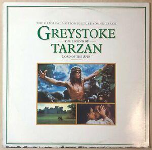 Greystoke: The Legend Of Tarzan, Lord Of Apes (OMPS) 1984 Oz - VG+ / NM Vinyl LP