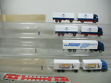 AI726-1# 4x Wiking H0 Véhicule routier/CAMION Iveco: Milkana+Siemens+125 Ans, 2x