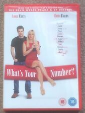 What's Your Number? (DVD) Anna Faris Chris Evans Comedy