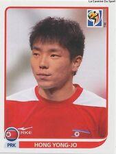 N°521 HONG YONG-JO # ROOKIE KOREA DPR STICKER PANINI WORLD CUP SOUTH AFRICA 2010