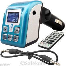 BLUE Sigaretta Accendino Presa MP3 Player si connette a CAR AUDIO SYSTEM W REMOTE