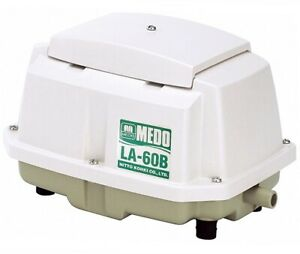 MEDO NITTO KOHKI LA 60B Kolben Luftpumpe - Leistung: 60L/min. - 64 Watt