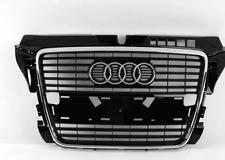 Nuovo Originale Audi A3 S3 2009- Calandra Anteriore Ricambio Nero Lucido