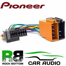 PIONEER DEH-P4000RDS Model Car Radio Stereo 16 Pin Wiring Harness Loom ISO Lead