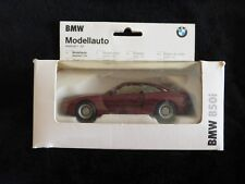 BMW 850i Modellauto Burgundy 1:43 Scale Rare - Mint Condition & Original Box