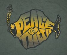 t-shirt large kappa alpha theta sorority peace love theta 2005 22 inches pit2pit