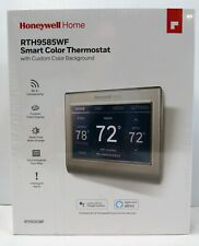 Factory Sealed Honeywell Wi-Fi Smart Color Programmable Thermostat (RTH9585WF)