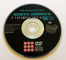 2007 2008 2009 Toyota Camry / Hybrid / Solara / Tundra Navigation DVD Map U33