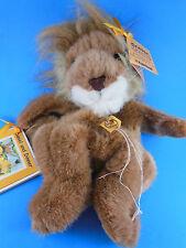Daniel the Lion Unstuffed Plush w Booklet Elinor Bailey Fairfield Critter Crafts