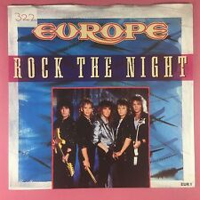 Europe - Rock The Night / Seven Doors Hotel - Epic EUR-1 Ex+ Condition A1/B1