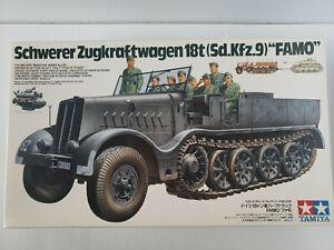 "Tamiya 1/35 German Schwerer Zugkraftwager 18T (Sd.Kfz.9) ""FAMO"" 35239"