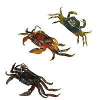Articles de pêche leurre doux crabe 3D Simulation eau salée hameçon appât bien