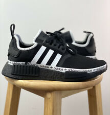 Adidas NMD R1 Logo Strip Black White FV8729 Multiple Sizes Brand New