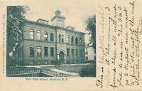 FREEHOLD NJ - New High School - udb (pre 1908)