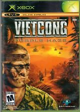 Vintage 2004 Vietcong Purple Haze Video Game Rated M with Case and Manual