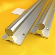 1Pc SBR12-1000mm Fully Supported Linear Rail Shaft Rod With Support Dia 12mm x1M