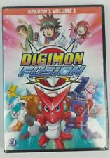 Digimon Fusion Season 1 Volume 1 DVD 3-Disc Set 15 Episodes New Sealed