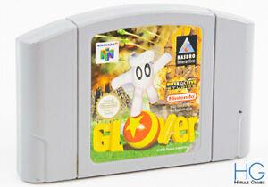 Glover - N64 Nintendo 64 Retro Game Cartridge PAL