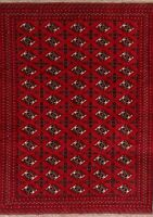 Geometric Balouch Oriental Area Rug Wool Hand-Knotted Home Decor Carpet 7'x9'