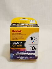Kodak 10C Color Ink +10B Black Ink Cartridge Combo: NEW