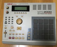 AKAI Sampling Machine MPC2000 MIDI Sampler Rare Exc++ Ram Drum And Drive F/S JPN