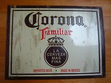 Vintage Corona Familiar beer Metal Sign fr bar,collectible,man cave-24 x18""