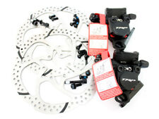 TRP HY/RD Flat Mount Road Mechancial Disc Brake Set 160mm Rotor(Front+Rear)
