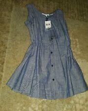 Burberry Children Girls Jean Dress 6Y NWT mspr $215