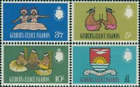 Gilbert & Ellice Islands 1965 SG100-103 Islanders QEII MLH