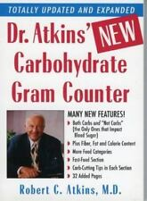 Dr. Atkins' New Carbohydrate Gram Counter, Robert C. Atkins, Good Condition, Boo