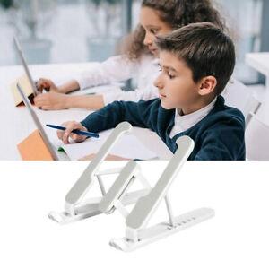 1pc Adjustable Tablet PC Stand Tablet Holder Laptop Cooling Stand Foldable St`