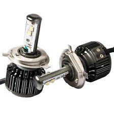 H4 9003 HB2 Cree LED Headlight Kits 6000K Hi/Lo Beam 8000lm/Set Bulbs V16